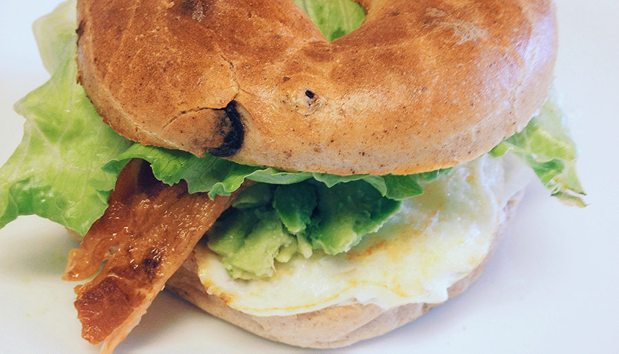 Nicole In The Kitchen: Egg Bagel