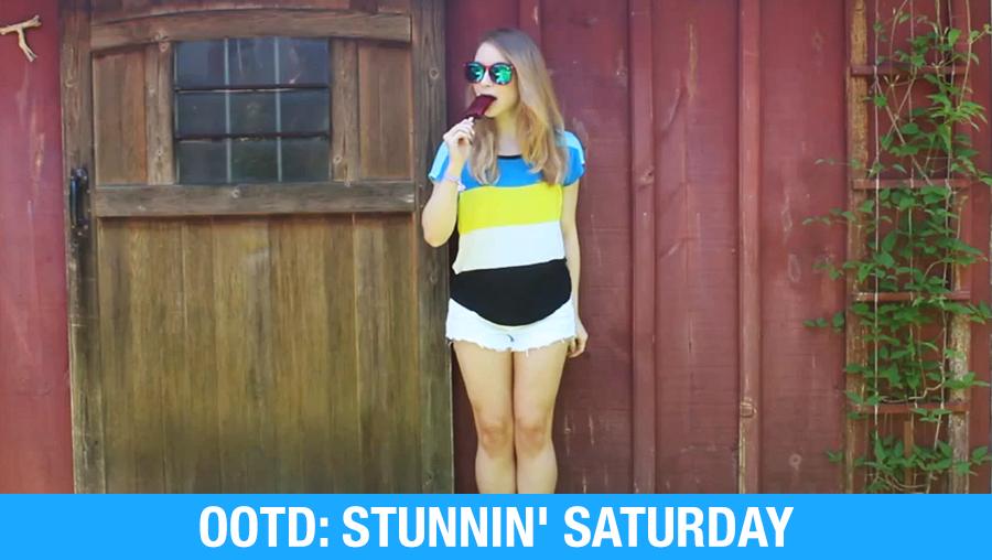 OOTD: Stunnin' Saturday