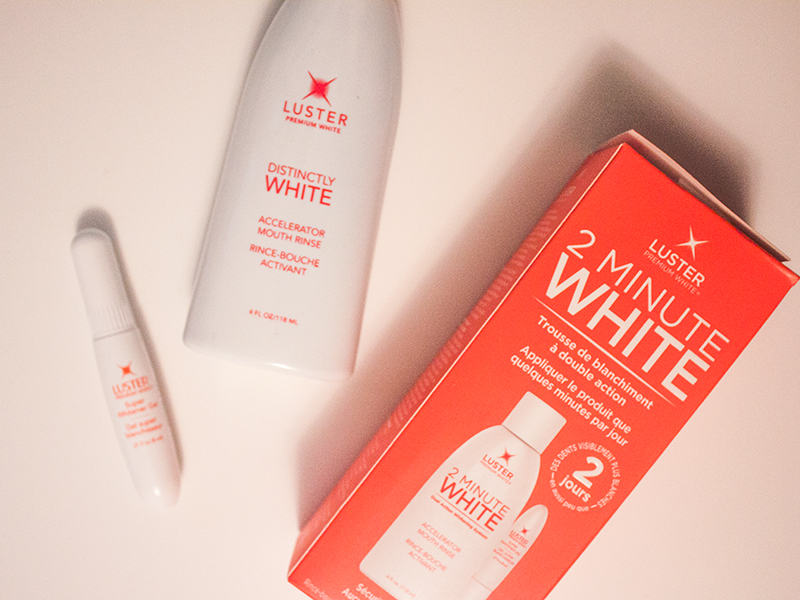 Product Review Luster 2 Minute White Kit Nicolerae
