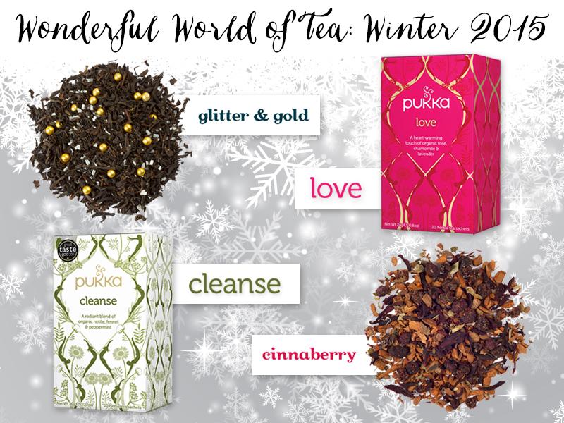 Wonderful World of Tea: Winter 2015