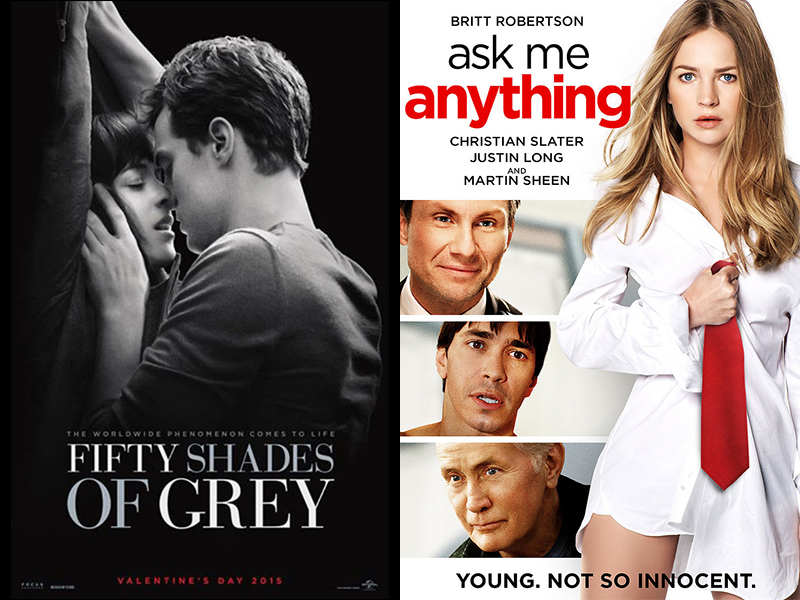 Fifty Shades of Grey & Ask Me Anything