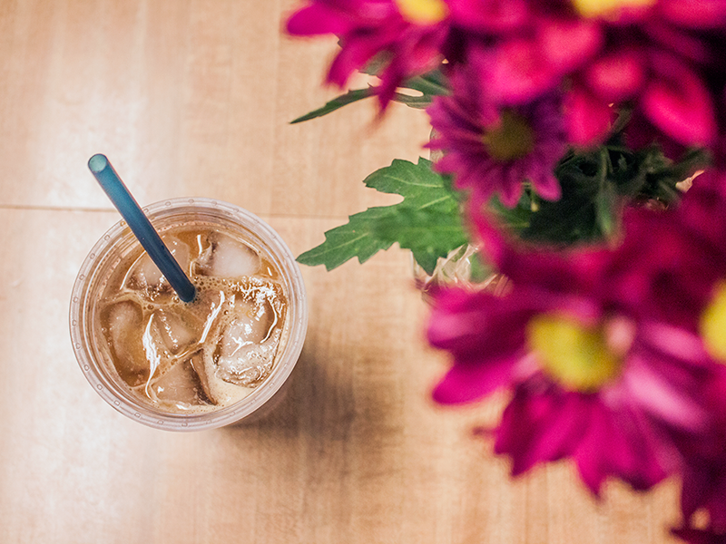 Nicole In The Kitchen: Iced Coffee Tricks