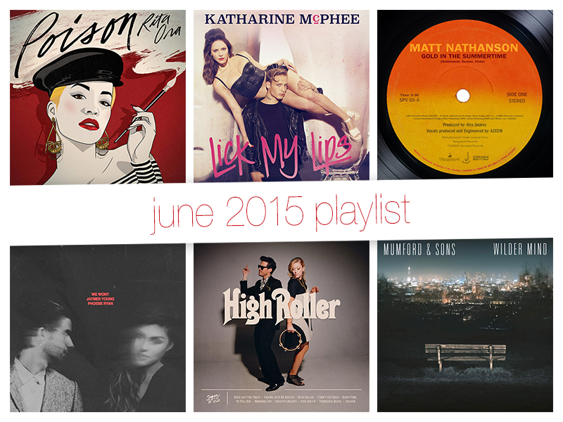 June 2015 Playlist