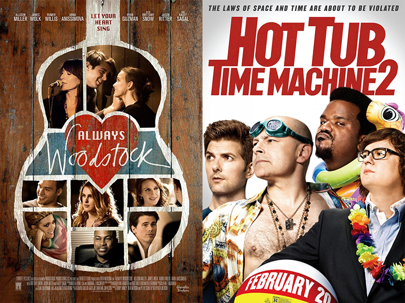Movie Review: Hot Tub Time Machine 2, Always Woodstock