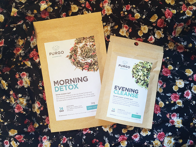 The PURGO Tea Routine
