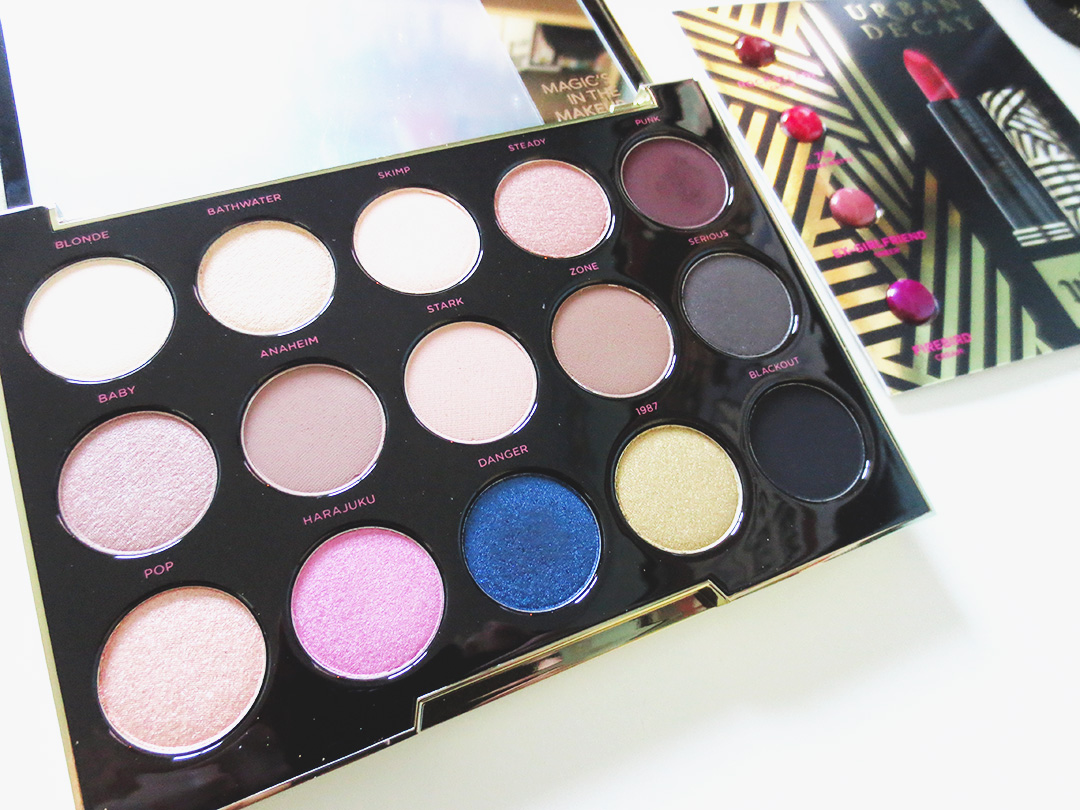 November Haul: Urban Decay Gwen Stefani Eye Shadow Palette