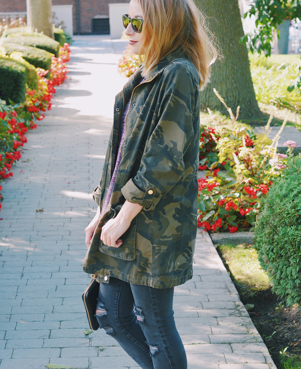 OOTD: The Camouflage Jacket