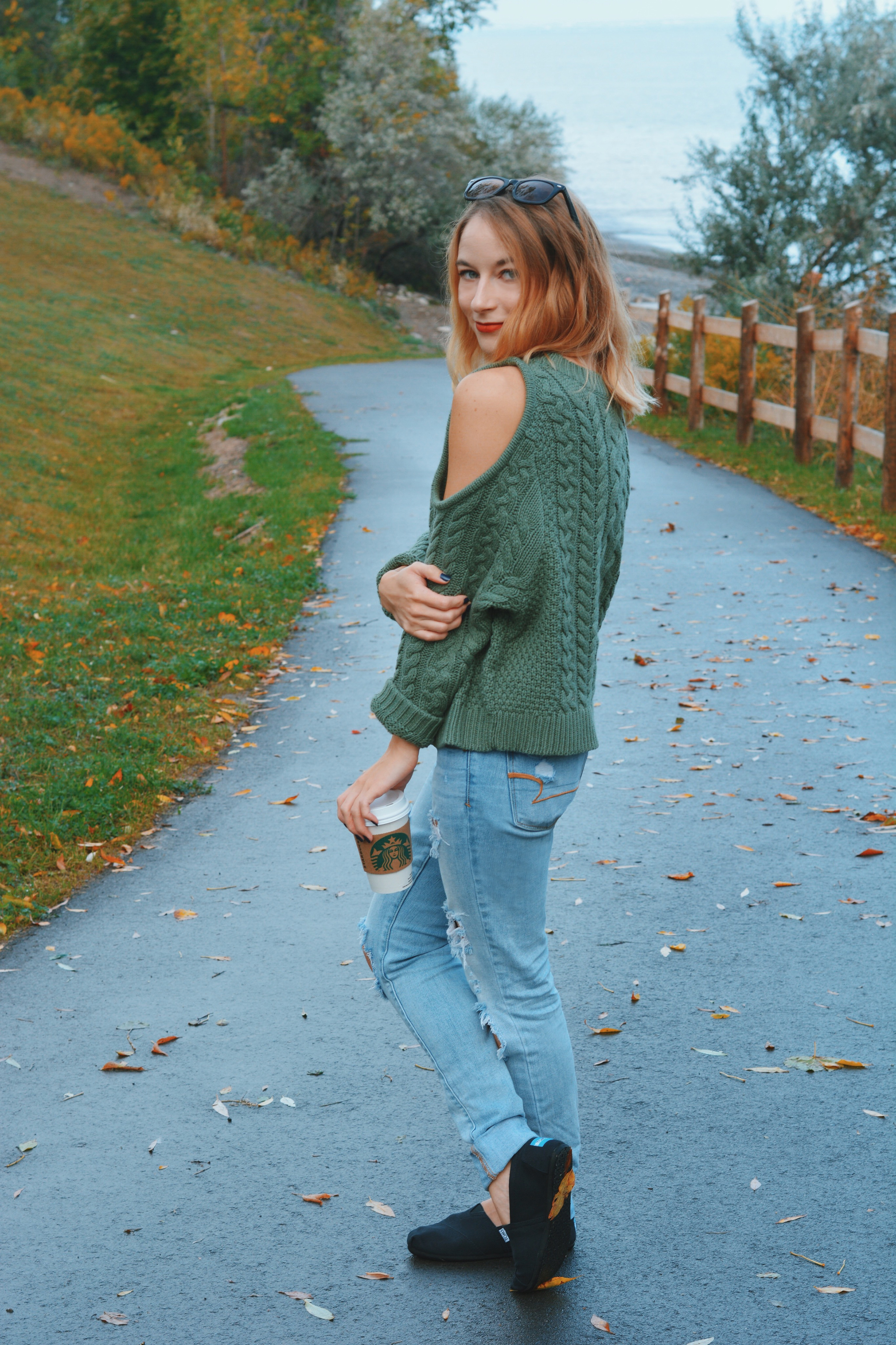 OOTD: Aerie Sweater Weather