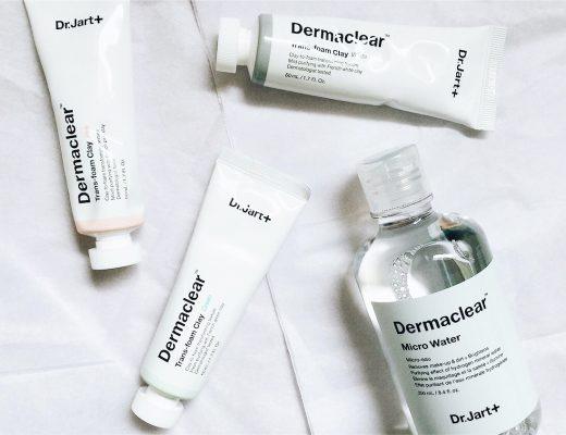 Dr. Jart+ Dermaclear Trans-Foam Clay Masks Trio