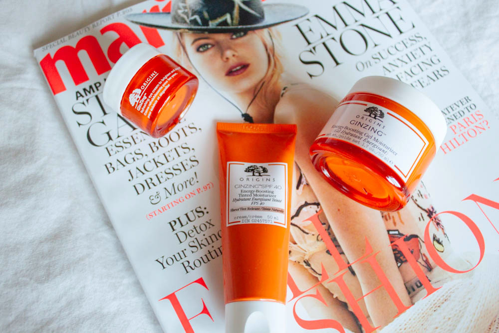 origins ginzing skin care
