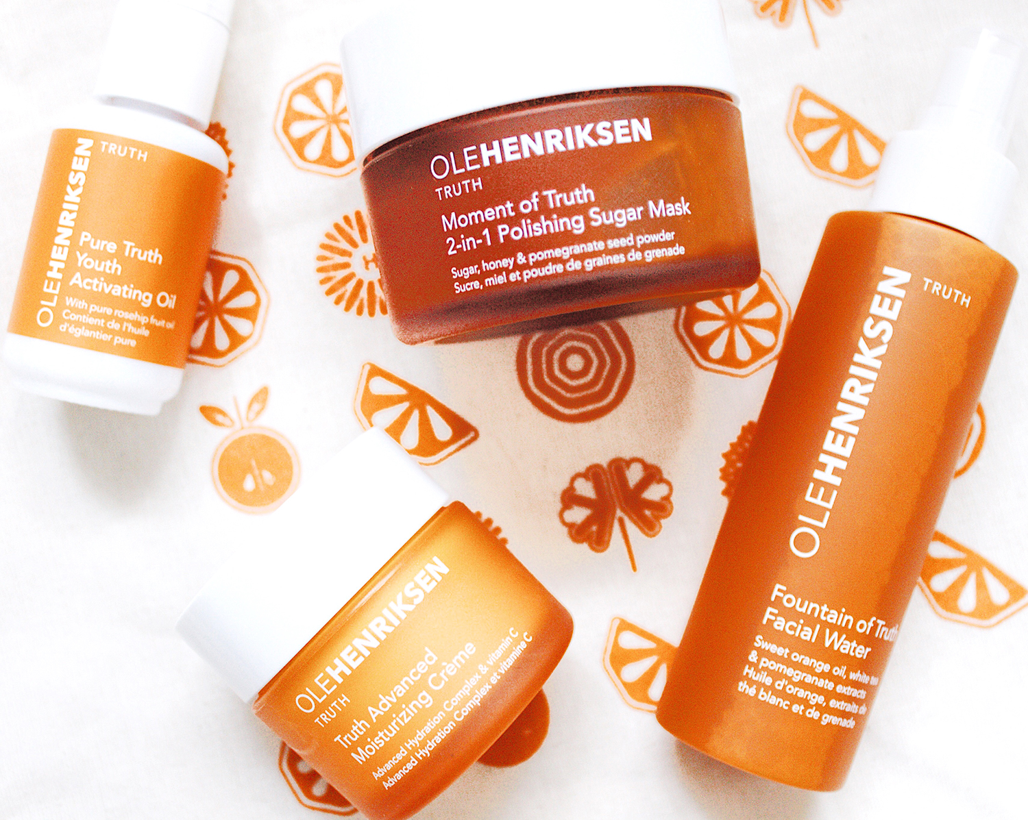 ole henriksen truth collection products