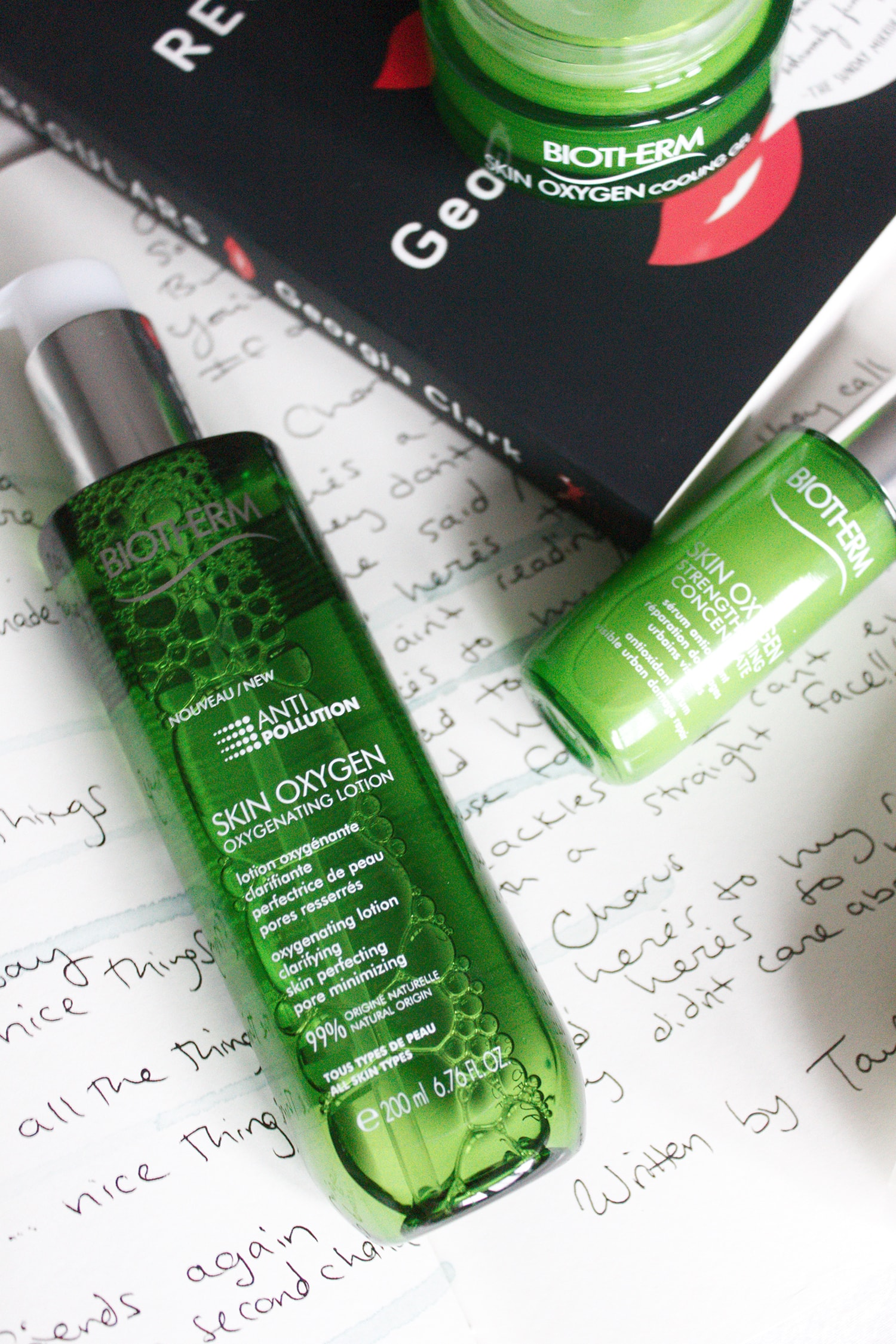 biotherm skin oxygen lotion and serum