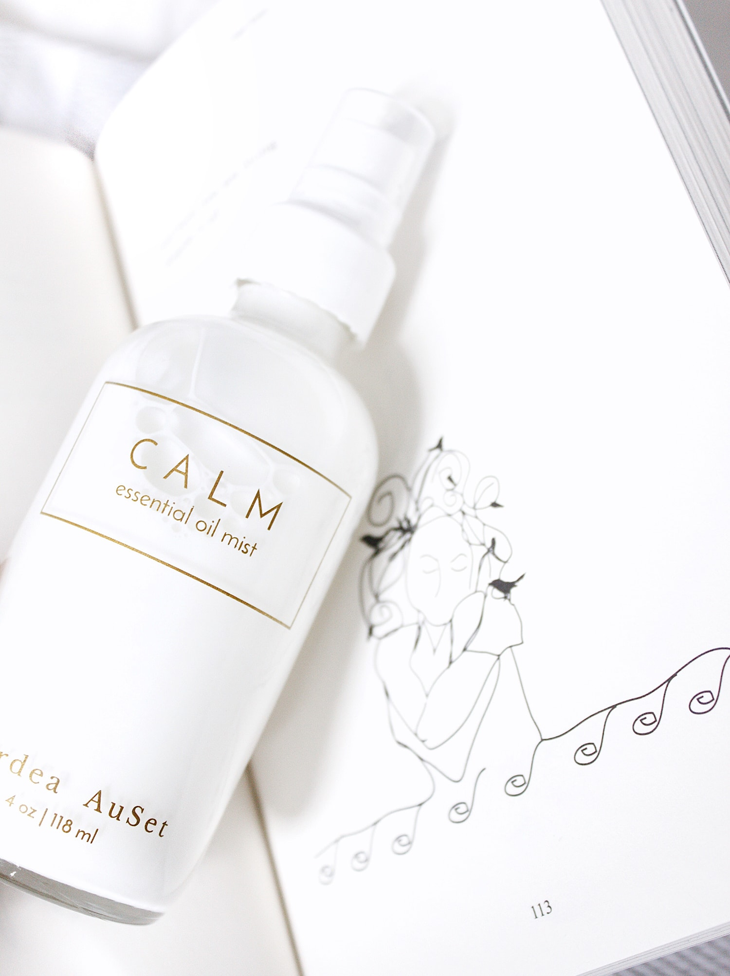 cardea auset CALM essential oil mist