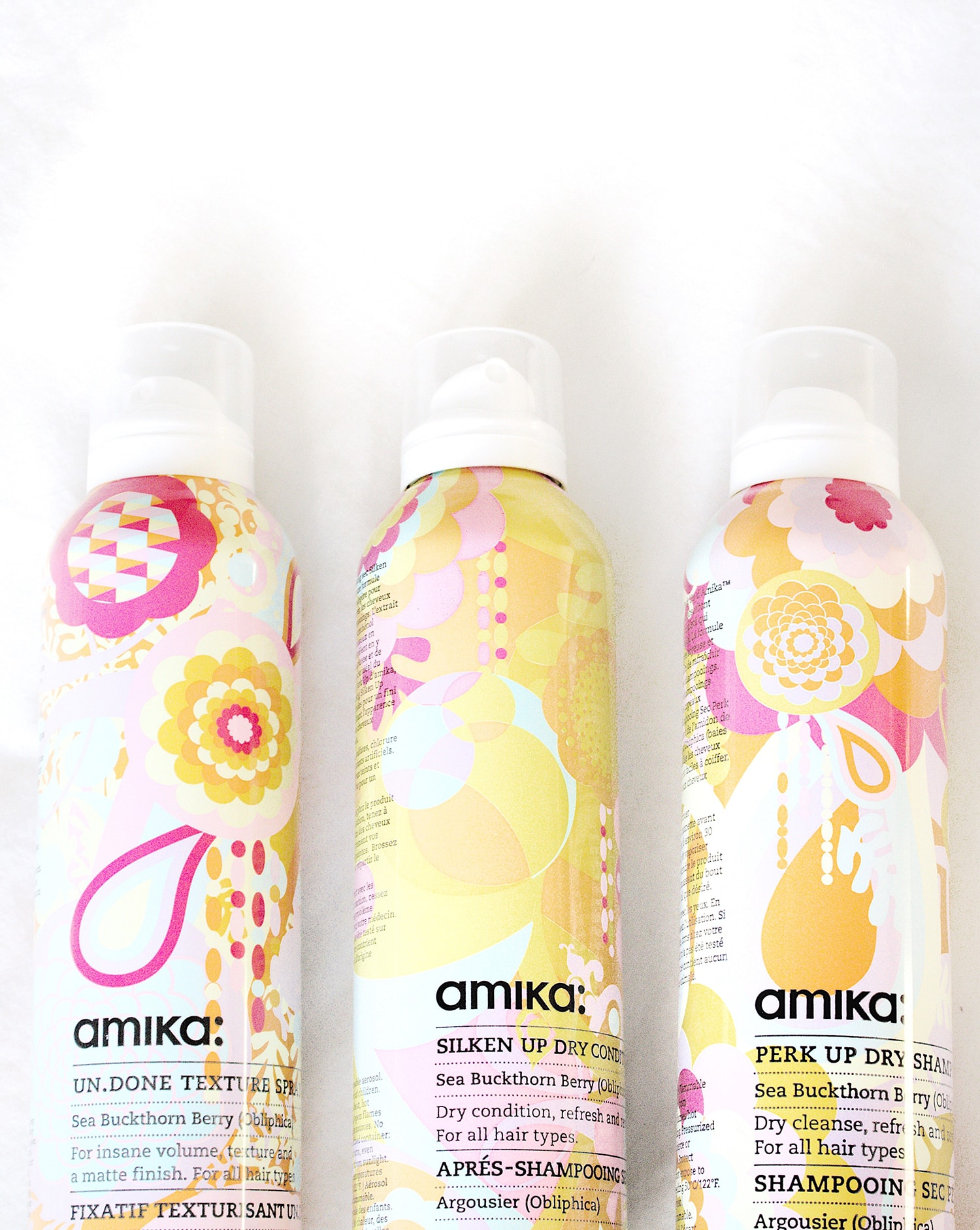 amika dry shampoo and conditioner