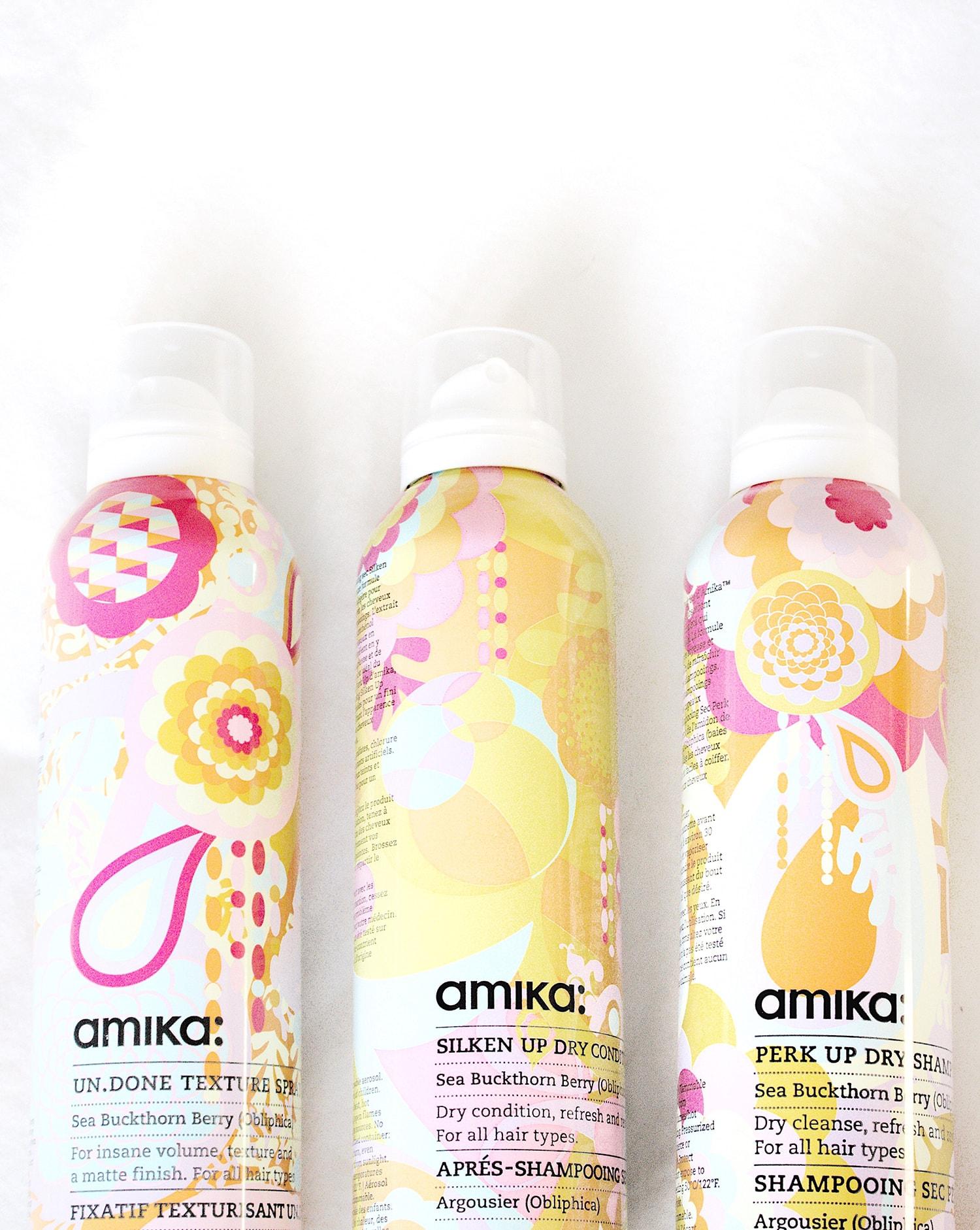 amika dry shampoo and conditioner