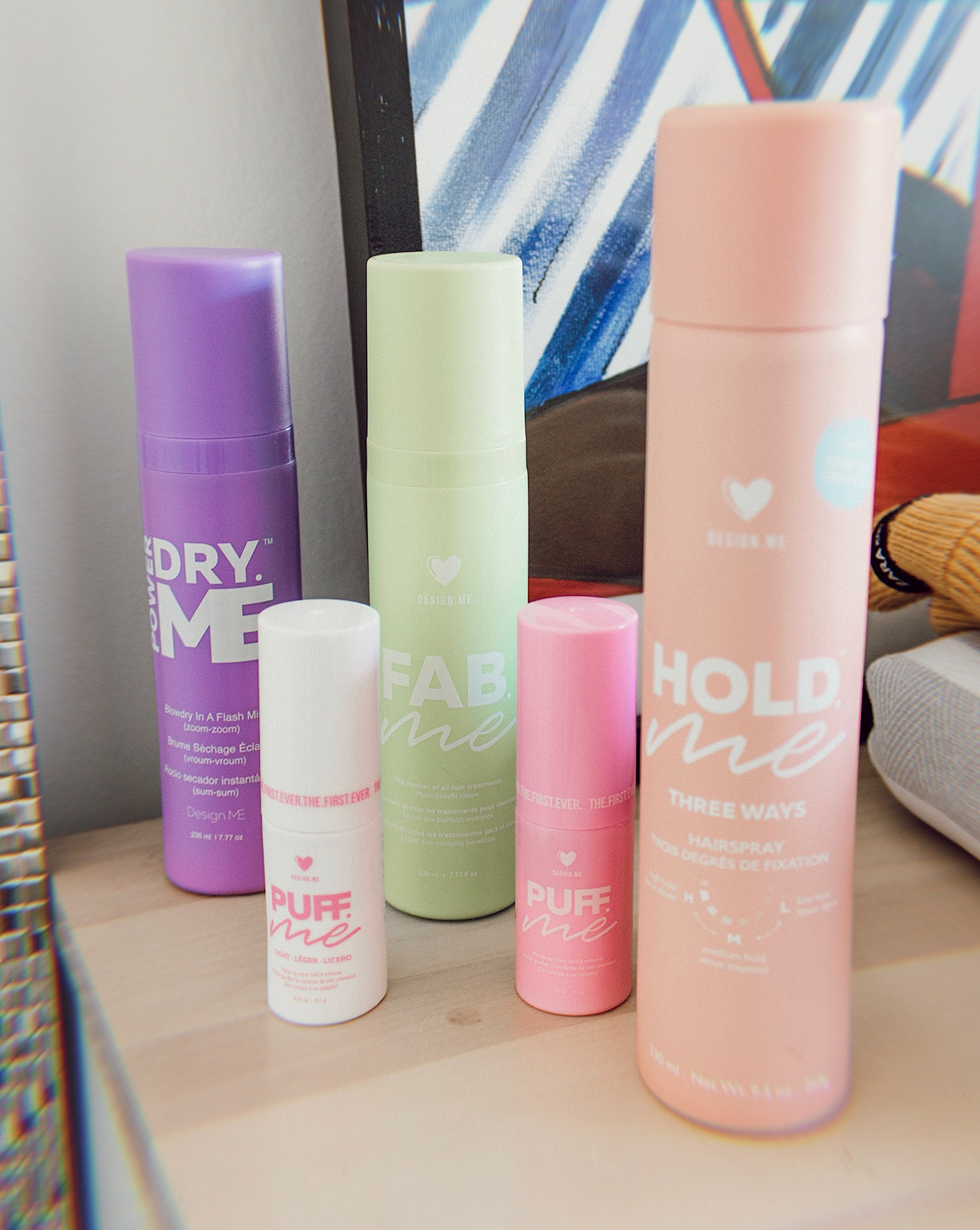 design.me hair products review