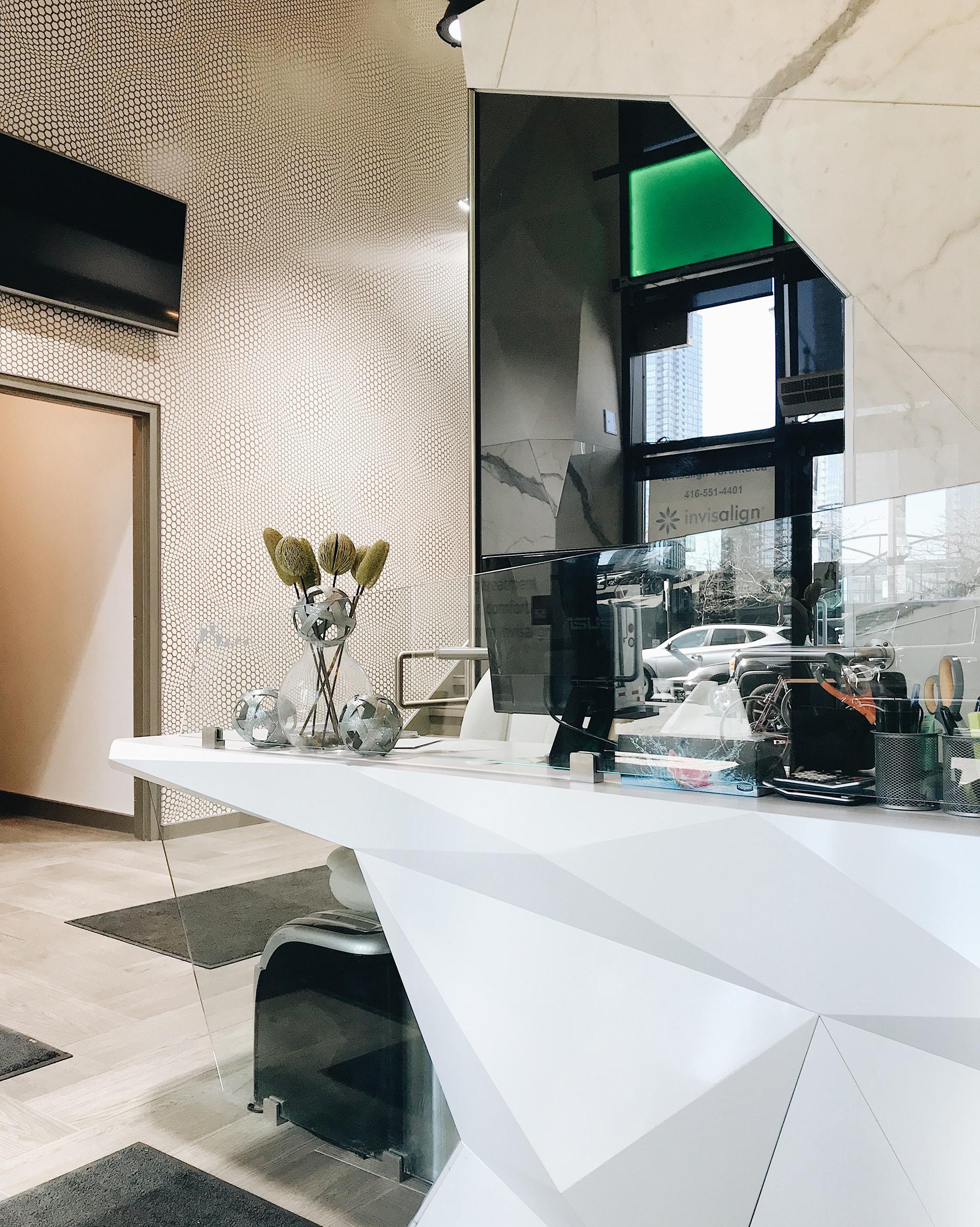 Dental Arts at Front office Invisalign