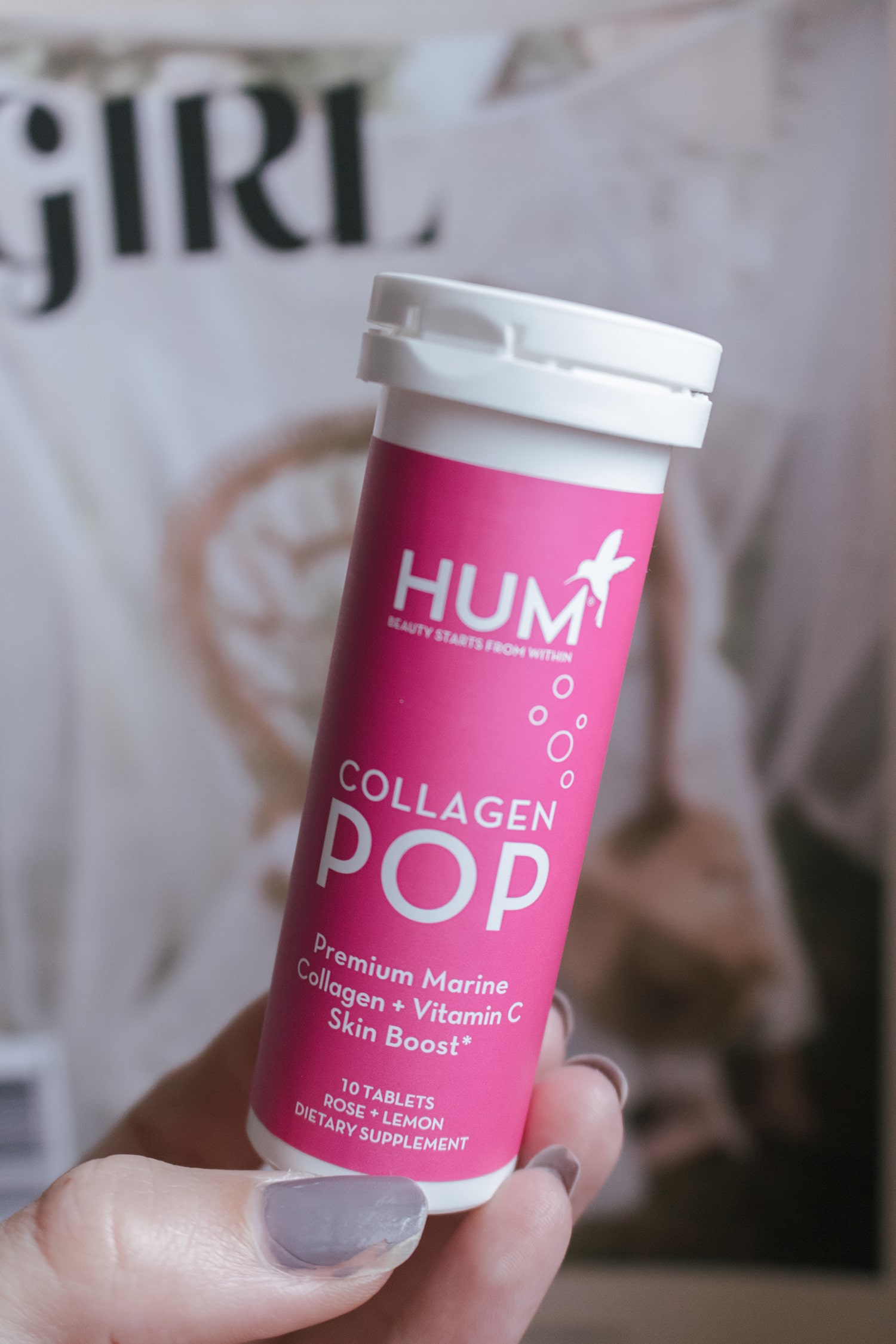 Hum Nutrition Collagen Pop Beauty