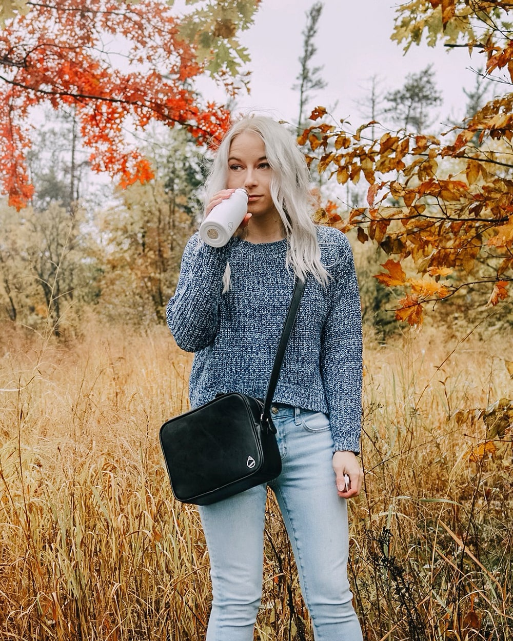 Hydriah Vegan Leather Bag