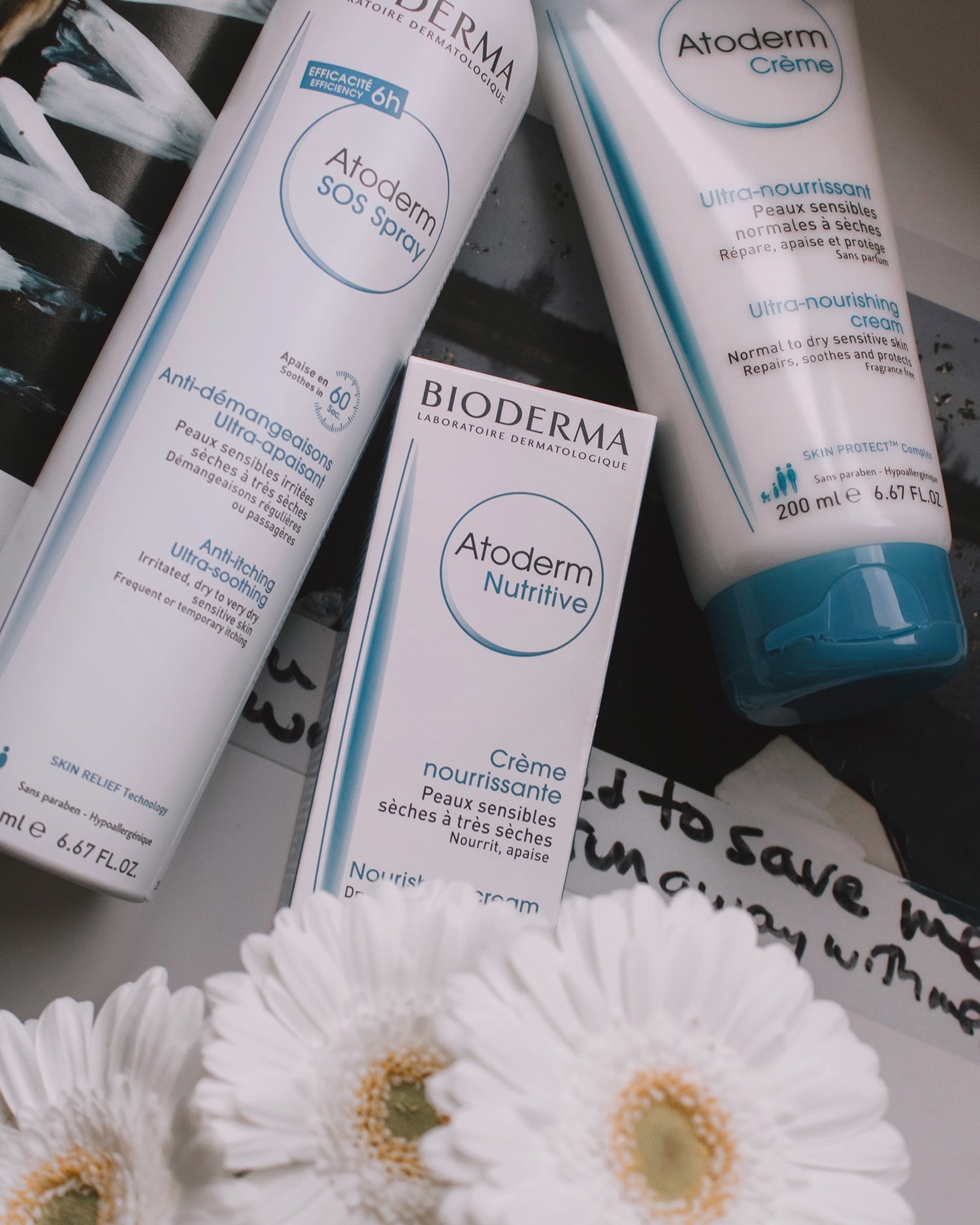 Bioderma Atoderm products