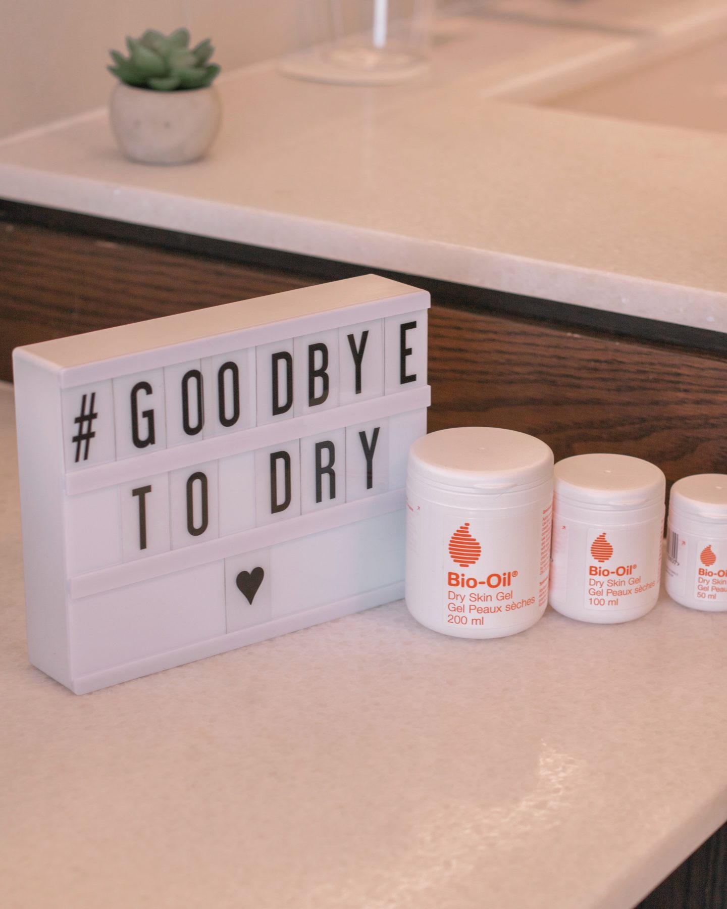 Bio-Oil Dry Skin Gel goodbye to dry