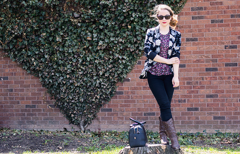 OOTD: Windy Sunday Florals