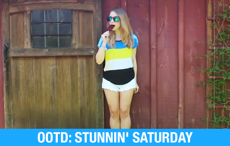 OOTD: Stunnin' Saturday