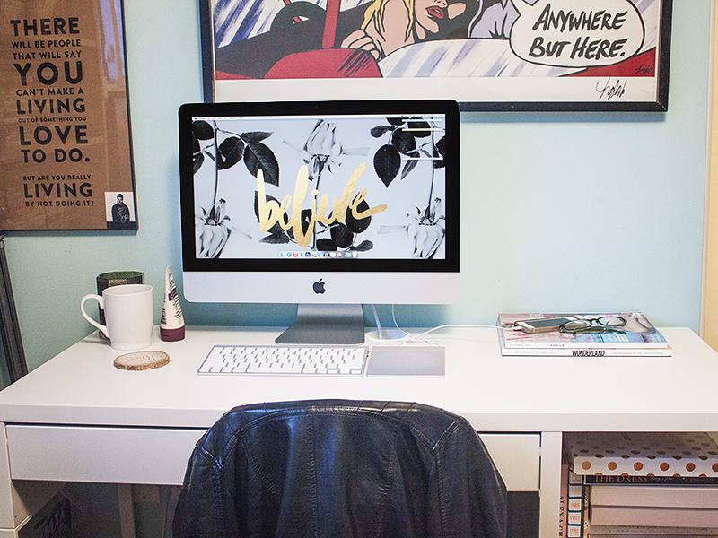 New Desk IKEA