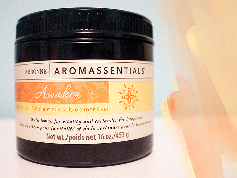 Arbonne Awaken Sea Salt Hand Scrub