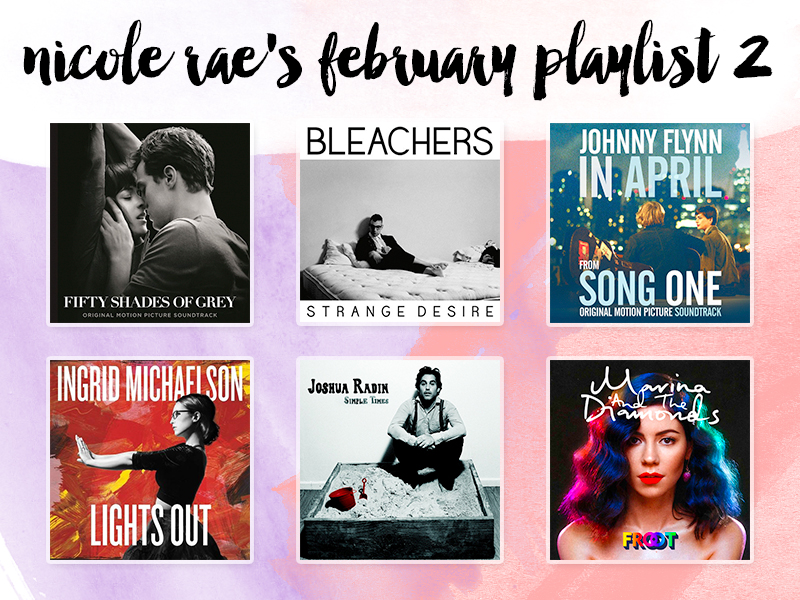 February 2015 Playlist, Part 2