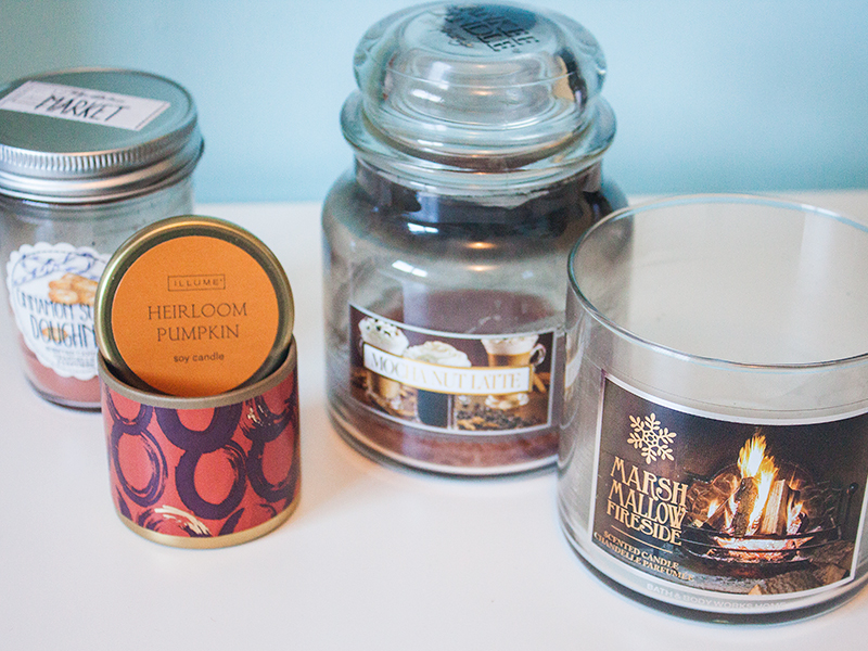 Burnt Out Candle Empties