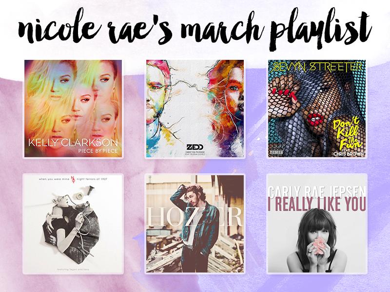 March 2015 Playlist