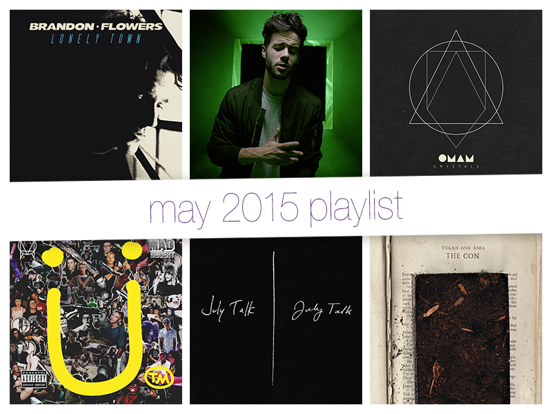 May 2015 Playlist