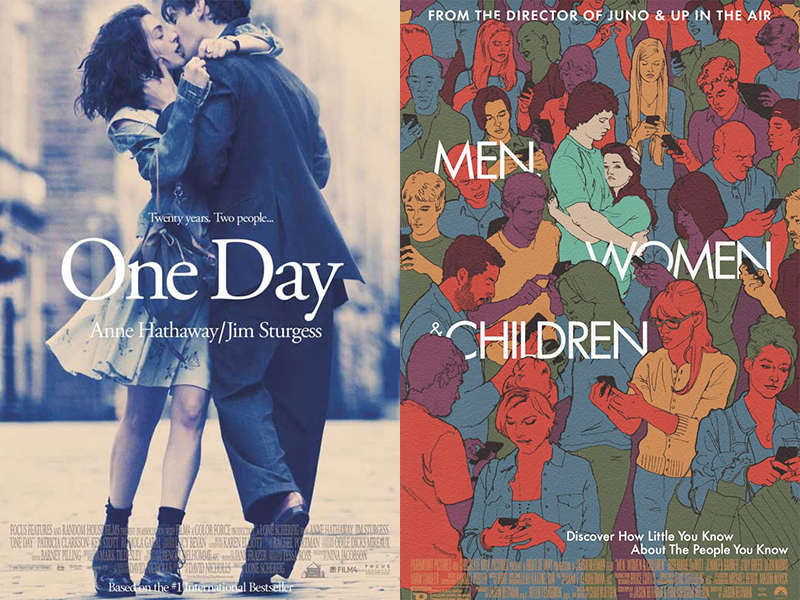 Movie Reviews: One Day, Men, Women & Children)