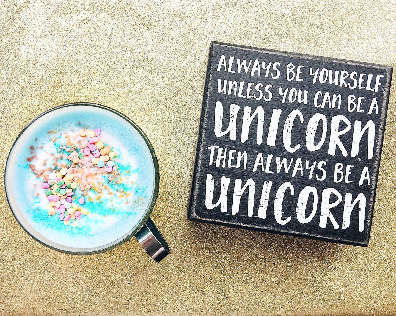 nyc cafe the end brooklyn unicorn latte