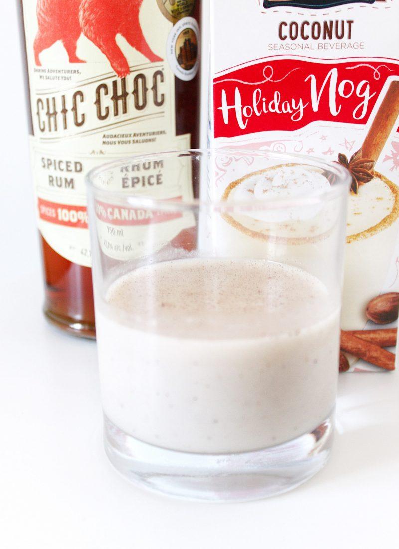 The Spiced & Spiked Vegan Eggnog