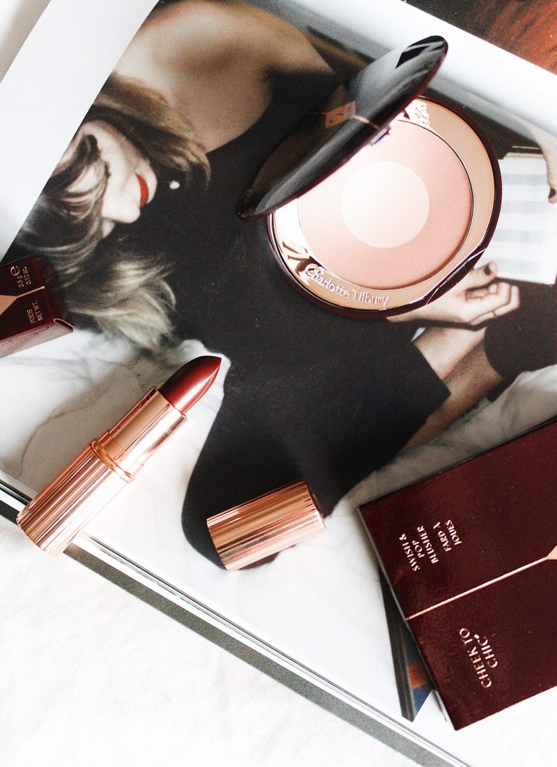 Vampy Makeup for the Holidays with Charlotte Tilbury