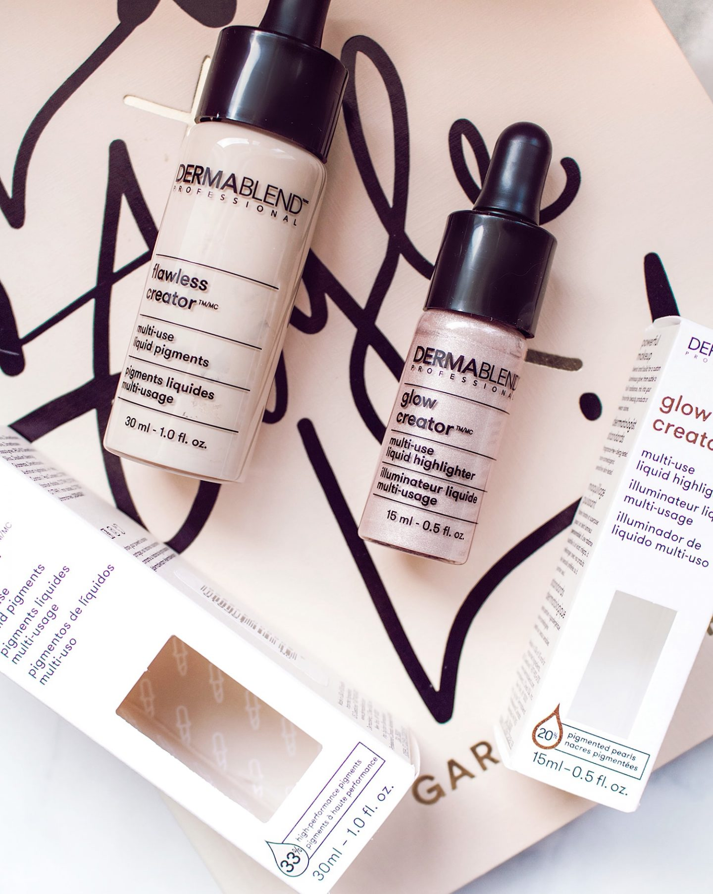 Dermablend customize your makeup