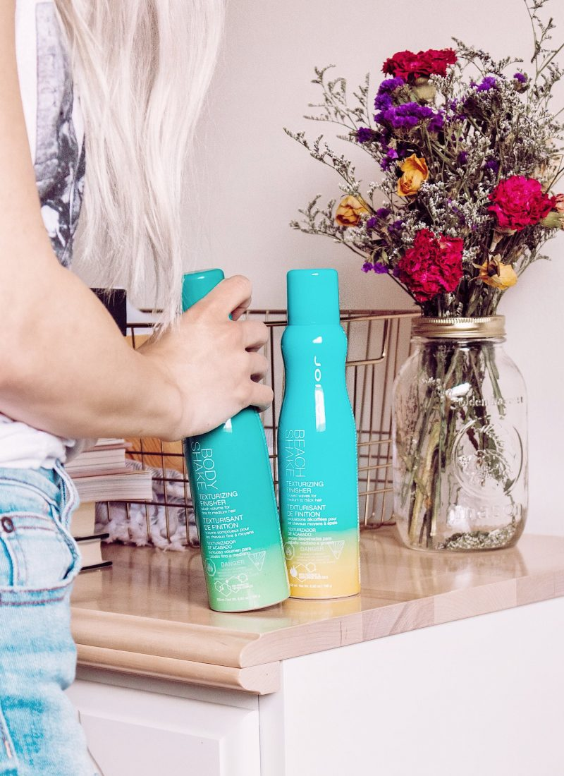 Shake It Up with Joico's Texturizing Finishing Sprays