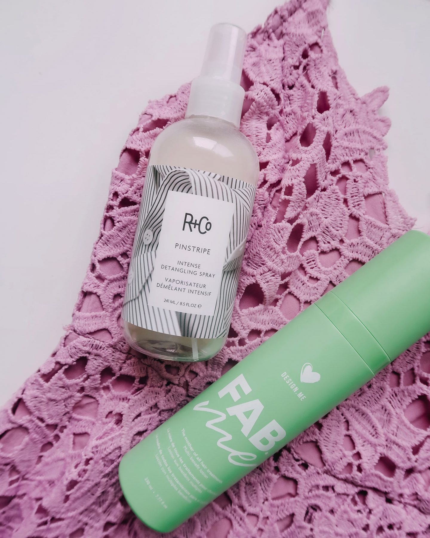 hair care r+co pinstripe detangle design.me fab.me