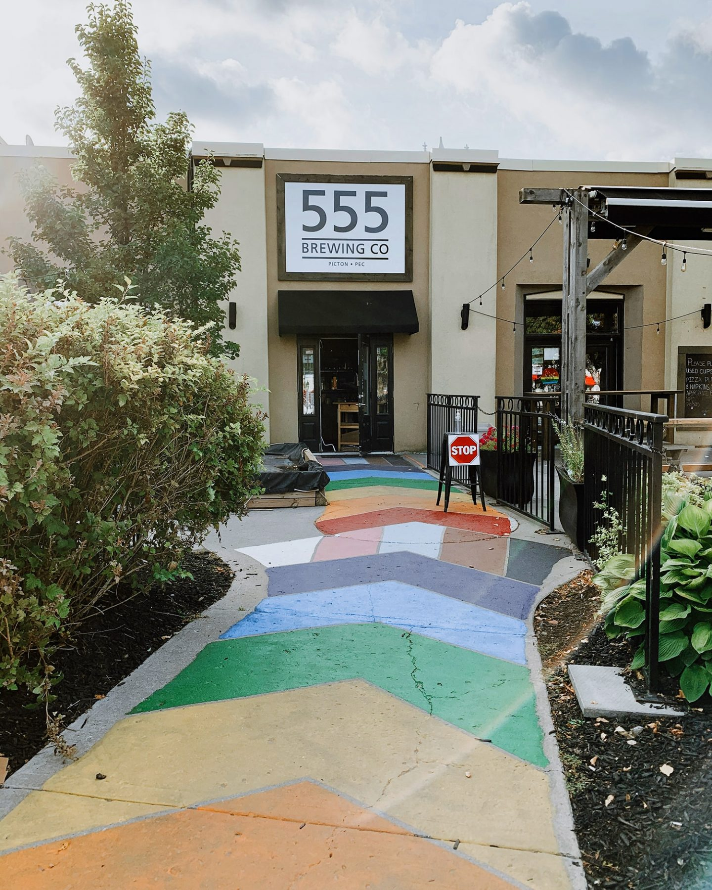 555 Brewing Co in Picton, Prince Edward County