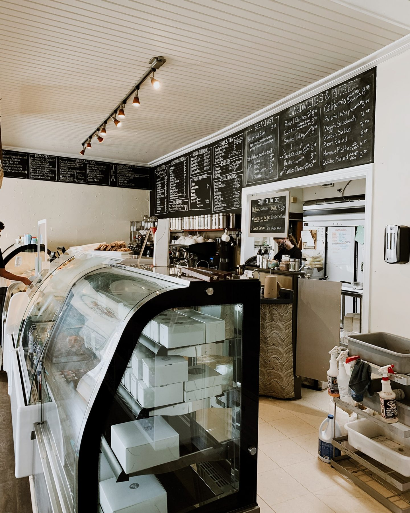 The Bean Counter Café in Picton, Prince Edward County