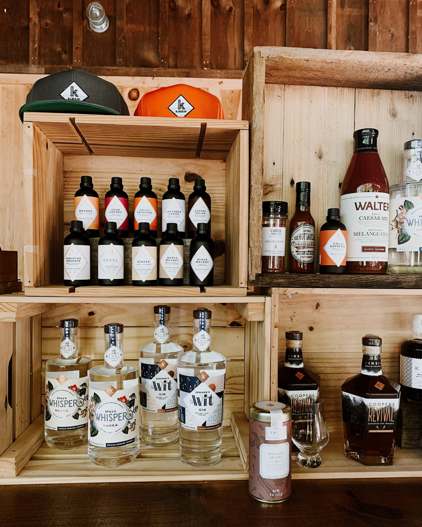 Kinsip House Of Fine Spirits in Prince Edward County