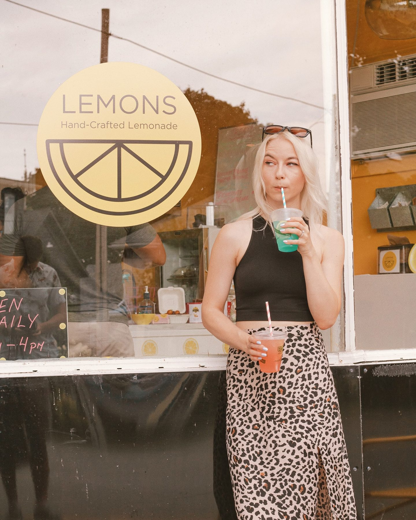 Lemons Lemonade shop Wellington in Prince Edward County