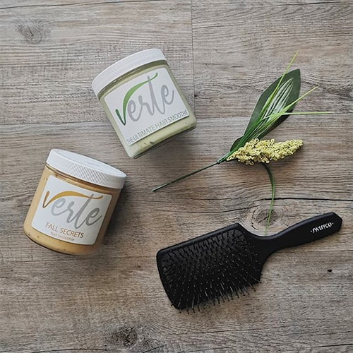 Verte Beauty hair masks in Hamilton