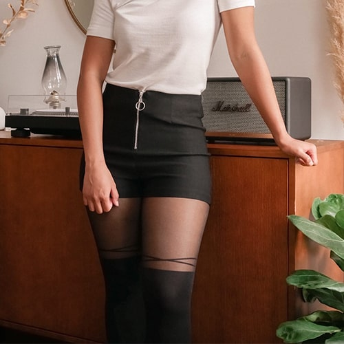 From Rachel tights and clothing