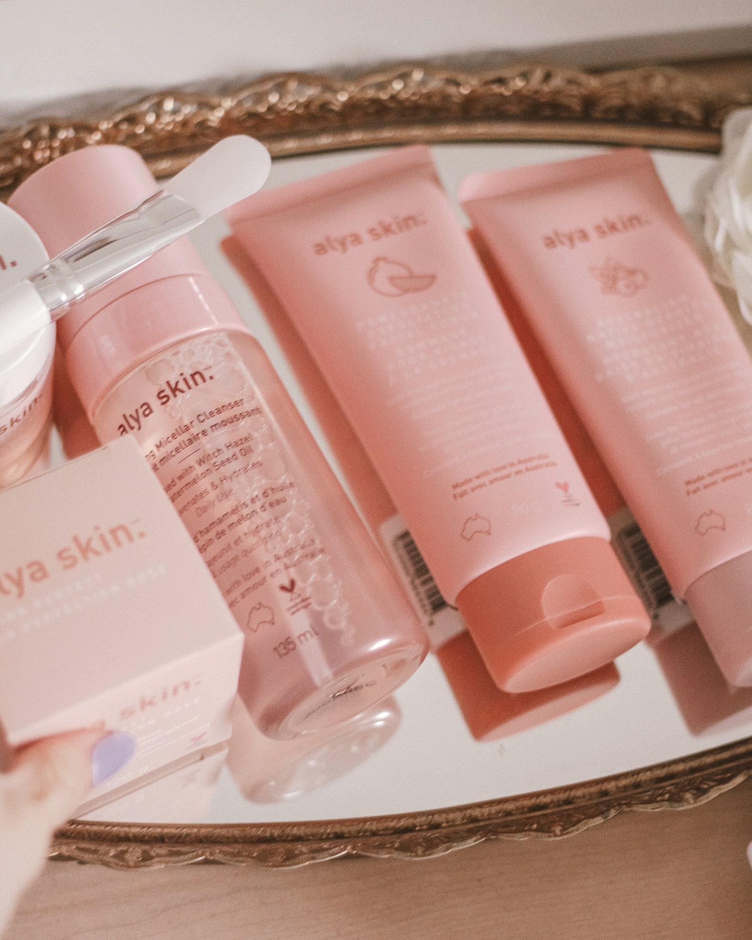 Ayla skin product range review by beauty blogger Nicole Rae
